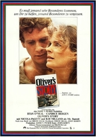 Oliver's Story - German Movie Poster (xs thumbnail)
