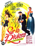 On the Riviera - French Movie Poster (xs thumbnail)