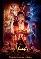 Aladdin - Finnish Movie Poster (xs thumbnail)