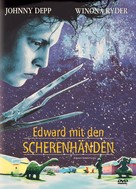 Edward Scissorhands - German Movie Poster (xs thumbnail)