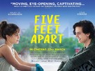 Five Feet Apart - British Movie Poster (xs thumbnail)