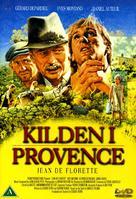 Jean de Florette - Danish DVD cover (xs thumbnail)