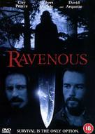Ravenous - British DVD cover (xs thumbnail)