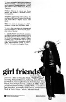 Girlfriends - Movie Poster (xs thumbnail)