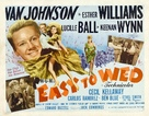 Easy to Wed - Theatrical poster (xs thumbnail)