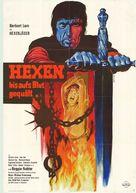 Hexen bis aufs Blut gequält - German Movie Poster (xs thumbnail)