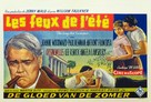The Long, Hot Summer - Belgian Movie Poster (xs thumbnail)