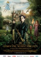 Miss Peregrine's Home for Peculiar Children - Slovak Movie Poster (xs thumbnail)