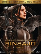 The Hunger Games: Mockingjay - Part 1 - Spanish Movie Cover (xs thumbnail)