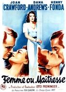 Daisy Kenyon - French Movie Poster (xs thumbnail)