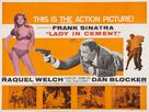 Lady in Cement - British Movie Poster (xs thumbnail)
