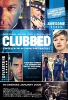 Clubbed - British Movie Poster (xs thumbnail)