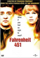 Fahrenheit 451 - DVD movie cover (xs thumbnail)
