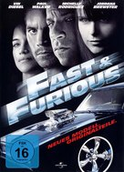 Fast & Furious - German Movie Cover (xs thumbnail)