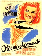 You Were Never Lovelier - French Movie Poster (xs thumbnail)