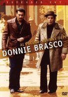 Donnie Brasco - DVD cover (xs thumbnail)