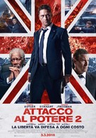 London Has Fallen - Italian Movie Poster (xs thumbnail)