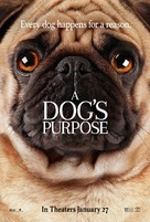 A Dog's Purpose - Movie Poster (xs thumbnail)