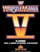 WrestleMania V - Movie Poster (xs thumbnail)