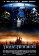 Transformers - Italian Movie Poster (xs thumbnail)