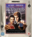 Rounders - British Blu-Ray cover (xs thumbnail)