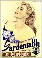 The Blue Gardenia - Italian Movie Poster (xs thumbnail)