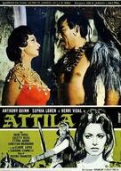 Attila - Italian Movie Poster (xs thumbnail)
