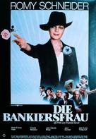 La banquière - German Movie Poster (xs thumbnail)