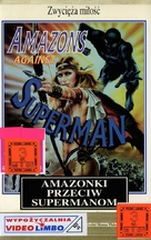 Superuomini, superdonne, superbotte - Polish VHS movie cover (xs thumbnail)
