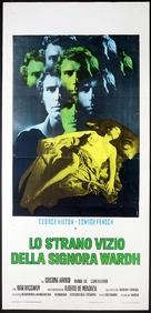 La strano vizio della Signora Wardh - Italian Movie Poster (xs thumbnail)