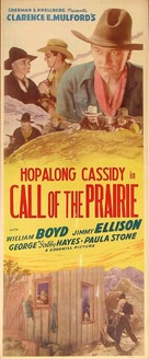 Call of the Prairie - Re-release movie poster (xs thumbnail)