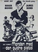 The Man With The Golden Gun - Danish Movie Poster (xs thumbnail)