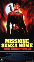 Red Scorpion 2 - Italian Movie Poster (xs thumbnail)