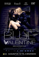 Blue Valentine - Hungarian Movie Poster (xs thumbnail)
