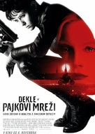 The Girl in the Spider's Web - Slovenian Movie Poster (xs thumbnail)
