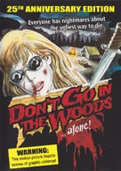 Don't Go in the Woods - DVD cover (xs thumbnail)