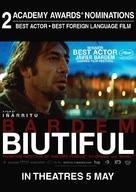 Biutiful - Singaporean Movie Poster (xs thumbnail)