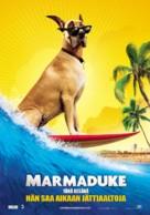 Marmaduke - Finnish Movie Poster (xs thumbnail)