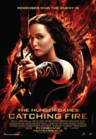 The Hunger Games: Catching Fire - Malaysian Movie Poster (xs thumbnail)