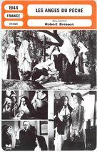 Les anges du péché - French poster (xs thumbnail)
