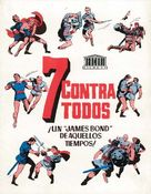 Sette contro tutti - Spanish Movie Cover (xs thumbnail)