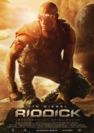 Riddick - German Movie Poster (xs thumbnail)