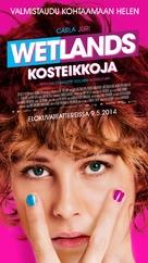 Feuchtgebiete - Finnish Movie Poster (xs thumbnail)