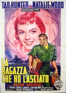 The Girl He Left Behind - Italian Movie Poster (xs thumbnail)