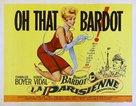 Une parisienne - Movie Poster (xs thumbnail)