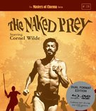 The Naked Prey - British Blu-Ray movie cover (xs thumbnail)