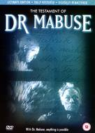 Das Testament des Dr. Mabuse - British DVD movie cover (xs thumbnail)