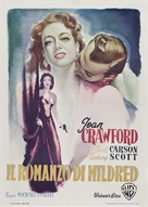 Mildred Pierce - Italian Movie Poster (xs thumbnail)