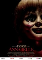 Annabelle - Romanian Movie Poster (xs thumbnail)