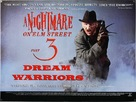 A Nightmare On Elm Street 3: Dream Warriors - British Movie Poster (xs thumbnail)